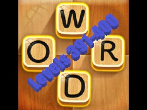 My Word Connect: Search the Word Stream levels 391-400