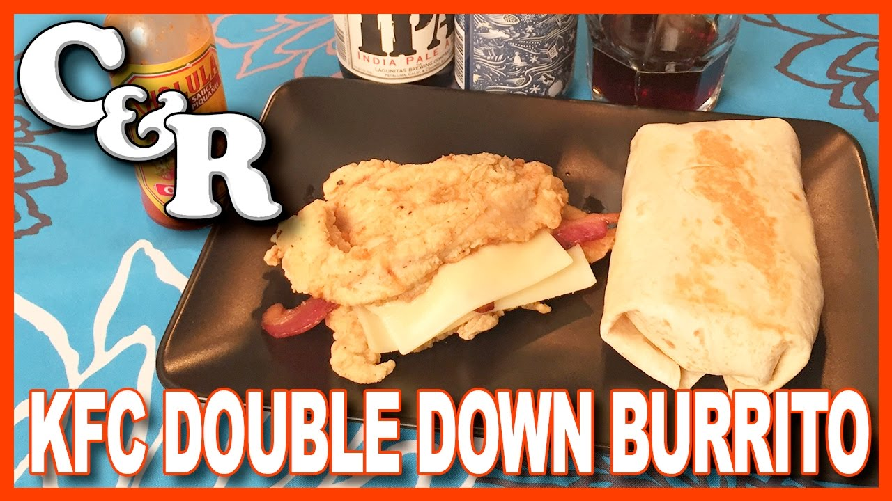 KFC Double Down & Double Down Burrito Recipe - Cook & Review Ep #34