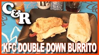 KFC Double Down & Double Down Burrito Cook & Review