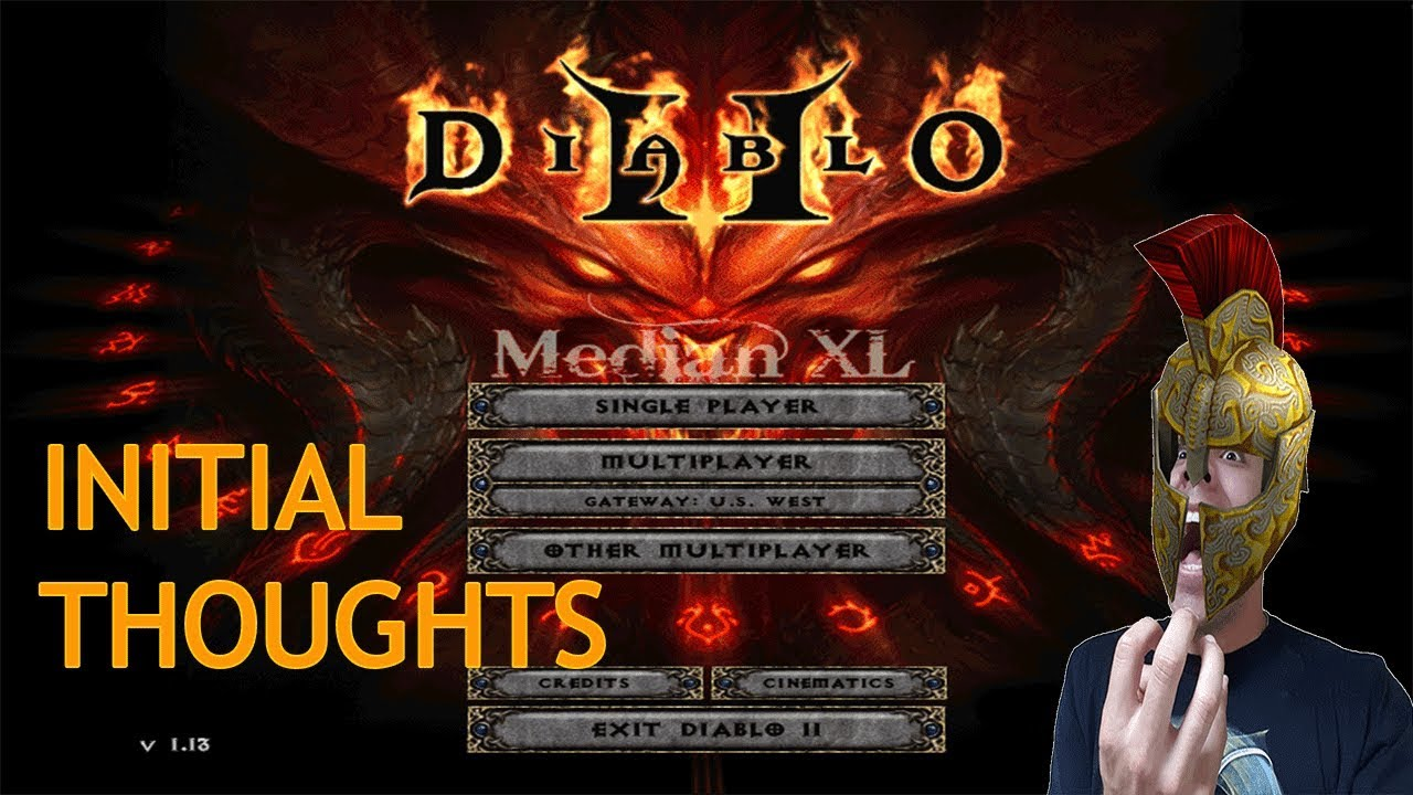 💢 MEDIAN XL INITIAL THOUGHTS - DIABLO 2 MOD 💢