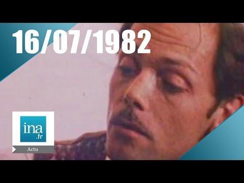 20h Antenne 2 Du 16 Juillet 1982 - Patrick Dewaere Est Mort   Archive INA