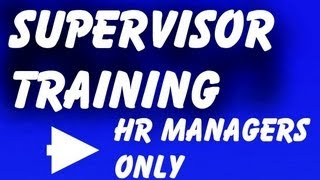 New Supervisor Training: Program, Course, PPT, DVD, Video for New Supervisor Training(http://workexcel.net/new-supervisor-training.html New Supervisor Training -- View 14 Vital Skills Every New Supervisor Training opportunity should include., 2013-03-08T16:49:07.000Z)