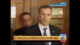 Declarații Florian Coldea la ieșirea de la audieri