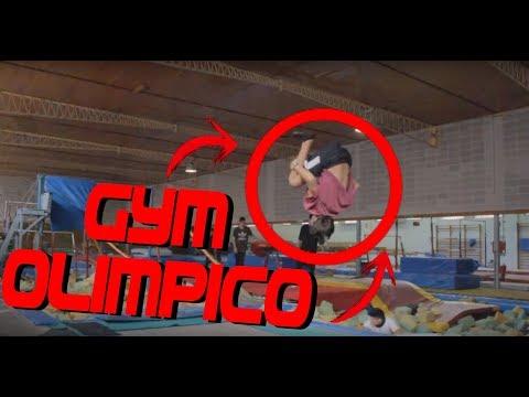 Probando el MEJOR GIMNASIO OLÍMPICO de BARCELONA!