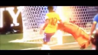 Jugadas De Neymar 2013  NUEVAS  nuevas jugadas de NEYMAR  soy de barrio ADAN ZAPATA