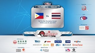 XII BFA East Asia Baseball Cup 2018 - Philippines vs Thailand (Live)