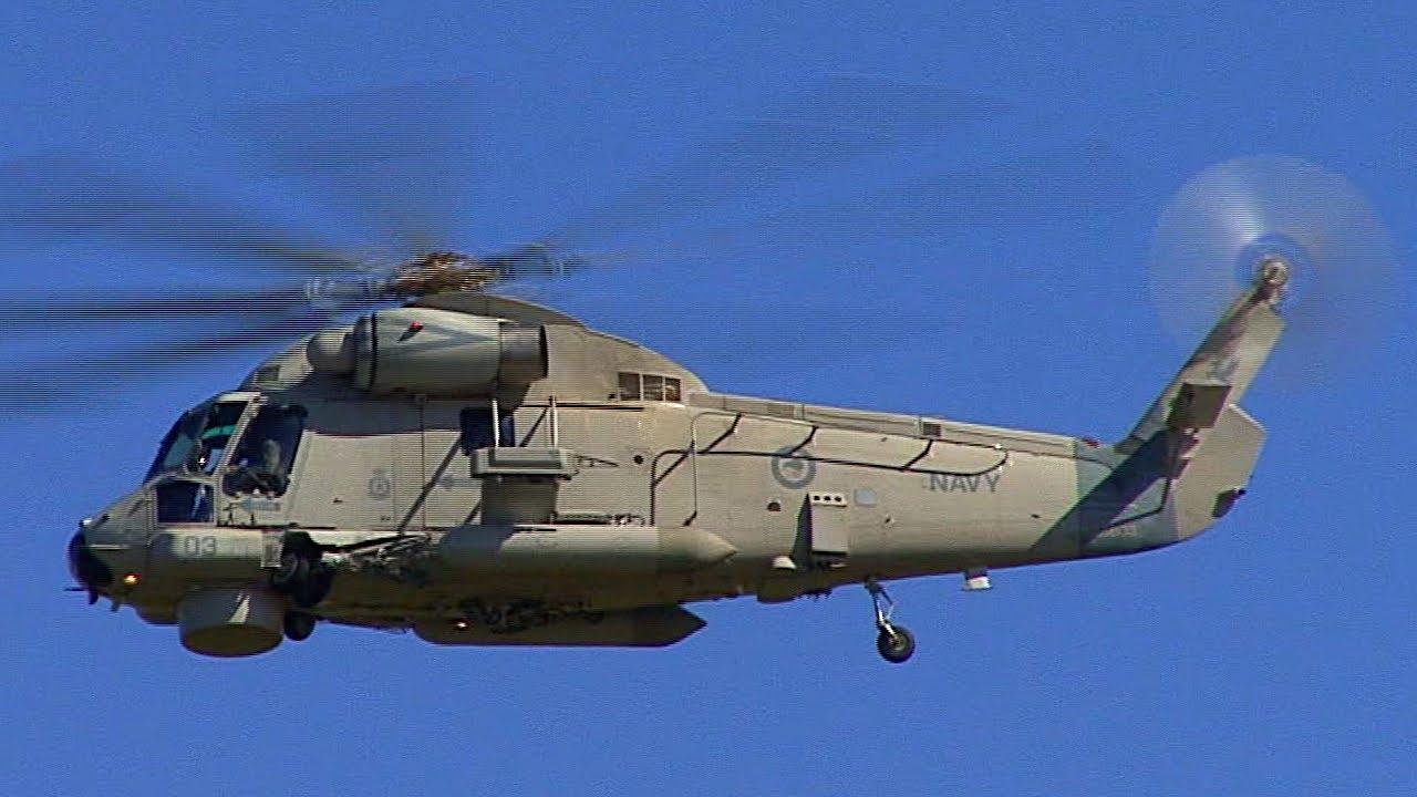 SH-2 SEASPRITE HELICOPTER COCKPIT - YouTube