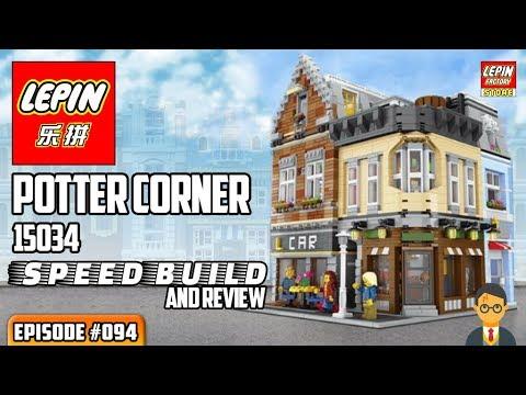 ATN #094 - Lepin 15034 Potter Corner Speedbuild / Review ...