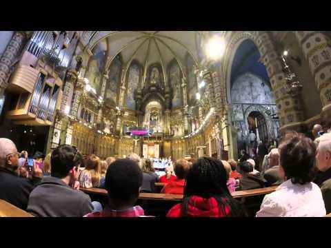 Montserrat boys choir (GoPro HD Hero 3+)