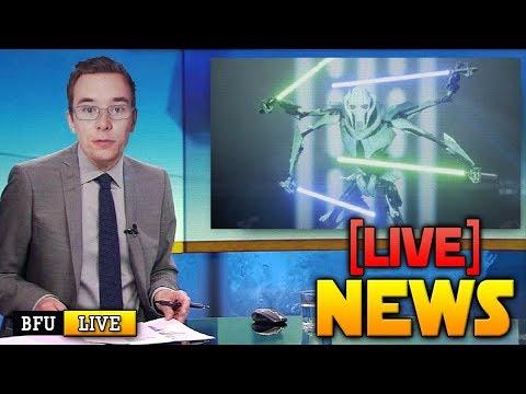 ⚡BATTLEFRONT 2 NEWS LIVE: General Grievous Reveal Incoming (CT) - Let the wait commence!