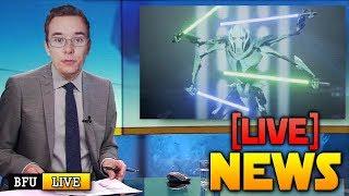 ⚡BATTLEFRONT 2 NEWS LIVE: General Grievous Reveal (CT)