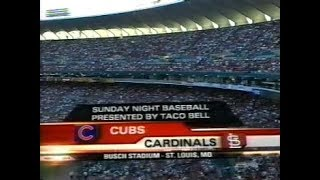 98 - Cubs at Cardinals - Sunday, July 24, 2005 - 7:05pm CDT - ESPN