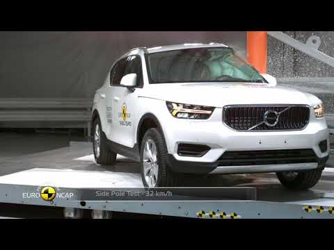 Euro NCAP Crash Test Of Volvo XC40 2018