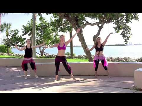 Belly Dance CARDIO FITNESS, Workout 4, StepFlix Lessons.
