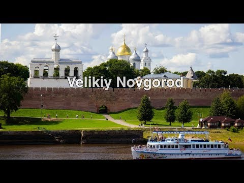 Великий Новгород (аэросъёмка 2019)/Velikiy Novgorod From The Drone (2019).