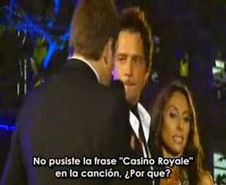 Chris Cornell - Casino Royale Premiere