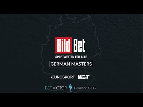 BildBet German Masters Starts Wednesday! Live on Eurosport & MORE