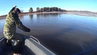 НАКОНЕЦ ТО ВЕСНА Первые дни рыбалки сетями Щука прет
