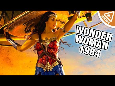 Did We Get Our First Look at Wonder Woman's Invisible Jet? (Nerdist News w/ Jessica Chobot)