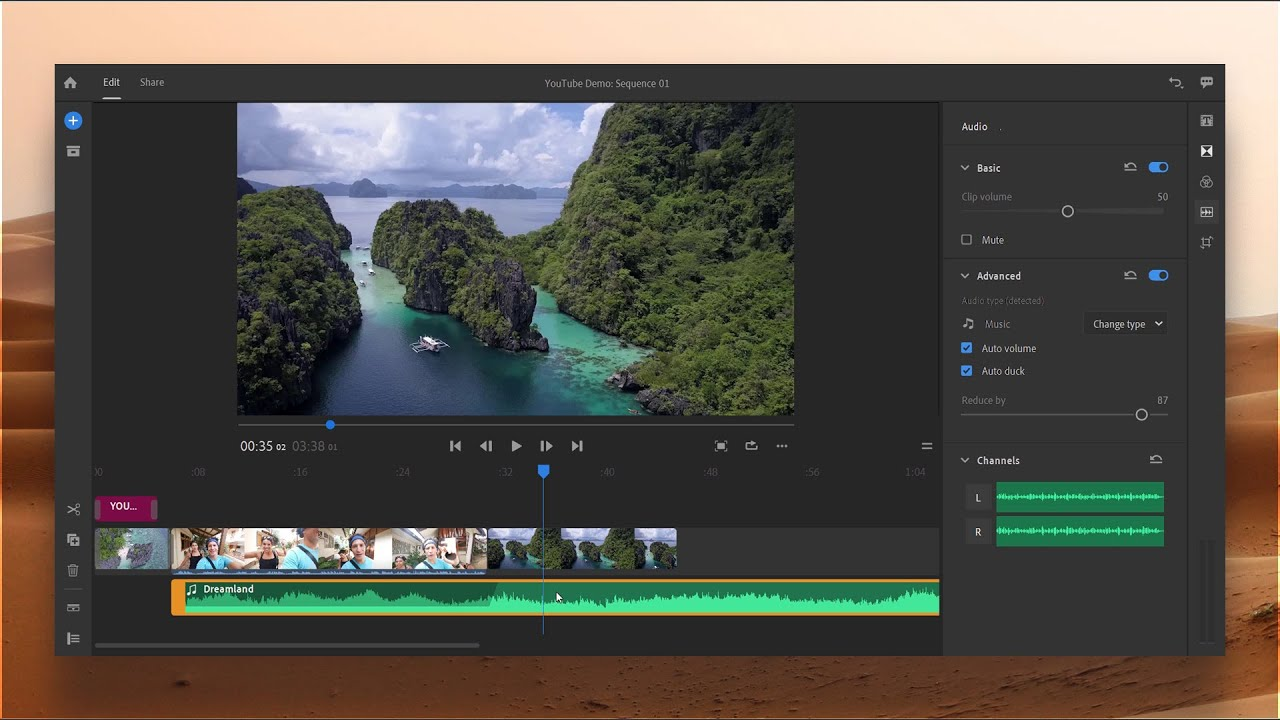 Adobe PREMIERE RUSH CC 2019 – Best Video Editing Tool for YouTubers! [Full Overview]