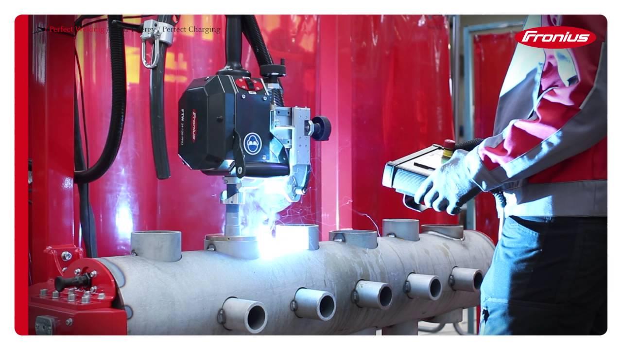 Fronius Automation FTW Pro Saddle welding / Fronius Automation FTW Pro  Sattelschweißung
