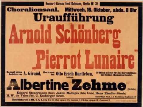 Pierrot Lunaire - Diskussion Th. W. Adorno + Pierre Boulez