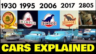 The COMPLETE History of Dinoco! ( CARS EXPLAINED )