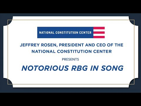 Notorious RBG in Song - The Long View: A Portrait of Ruth Bader Ginsburg in Nine Songs