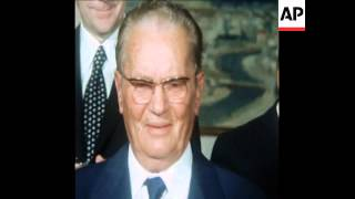 SYND 26/05/74 PRESIDENT JOSIP BROZ TITO 82ND BIRTHDAY CELEBRATIONS