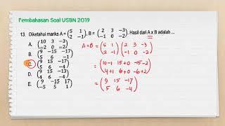 Part 2_pembahasan Try Out Usbn Matematika Smk 2019_ No. 11-20