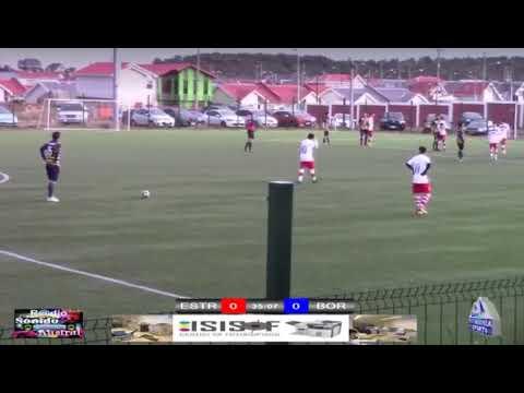 Elisandro Castillo gol con el Deportivo Bories contra Estrella del Sur