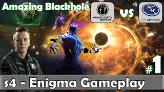 s4 - Enigma Gameplay | Amazing Blackhole | iG vs EG Game 1 Group Stage TI 8