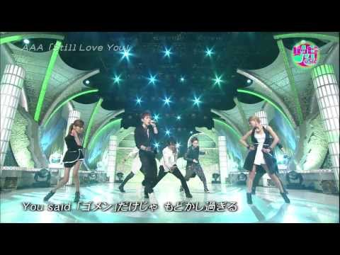 AAA - Still Love You (Happy Music 2012.05.12)