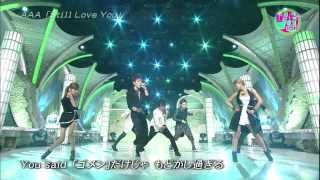 AAA - Still Love You (Happy Music 2012.05.12)