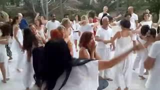 Celebrating Life at Osho Aftoz Meditation Center, Lesvos Island, Greece