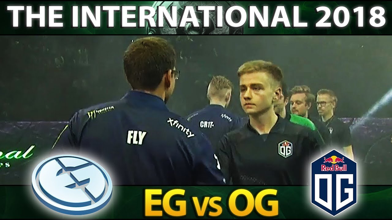 Eg Vs Og Most Epic Series Ti The International