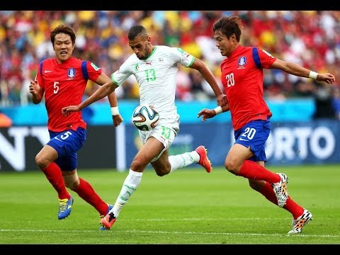 FWC 2014 - Korea Republic v Algeria - International Sign Highlights
