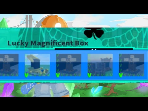 Miners Haven opening Lucky MAGNIFICENT Box