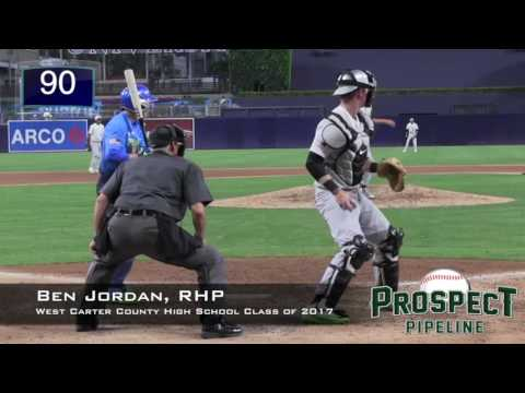 Ben Jordan Prospect Video, RHP, West Carter County High School Class of 2017