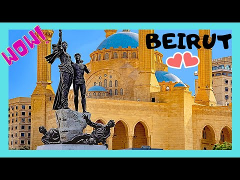 BEIRUT, LEBANON: Major ATTRACTIONS TO SEE IN 2-4 HOURS around the city