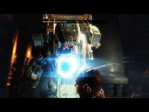 Titanfall 2- Defeat of Viper the flying Titan - Derrota de la Víbora el Titán volador.