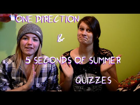 ONE DIRECTION AND 5SOS QUIZZES