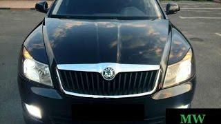 Видео салона Skoda Octavia A5 серия чехлов Dynamic