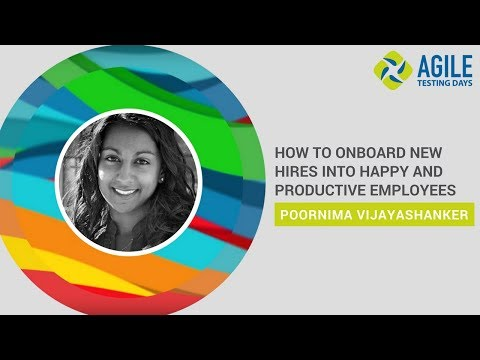 Poornima Vijayashanker: How To Onboard New Hires Into Happy and Productive Employees