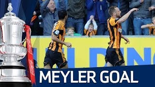 DAVID MEYLER GOAL: Hull City v Sunderland 3-0 FA Cup Sixth Round HD