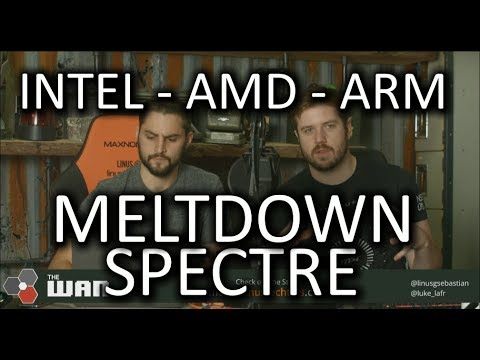 MASSIVE CPU vulnerabilities, Meltdown, Spectre - WAN Show Jan. 5 2018
