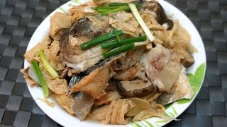 香港食譜 : 紅燒魚頭