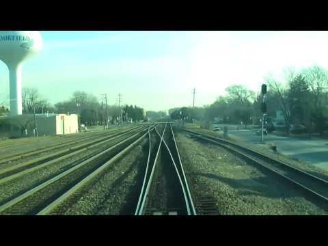 METRA BNSF Aurora Line Inbound Naperville EXPRESS
