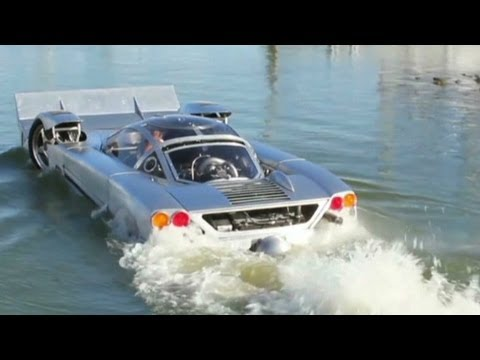 Amphibious car with a sticker price of more $259,500 - YouTube