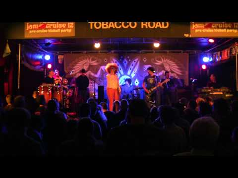 "Jam Cruise 12 Kickoff Party: Orgone ""Funky Nassau"" Tobacco Road, 1-3-2014"